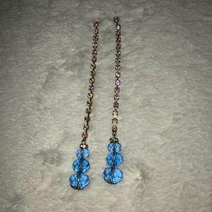 Betsey Johnson Earrings dangly